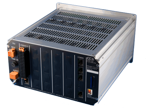 SFC3000 Flow Computer rear
